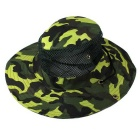 Outdoor Camouflage Net Breathable Fishing Round Edge Cap