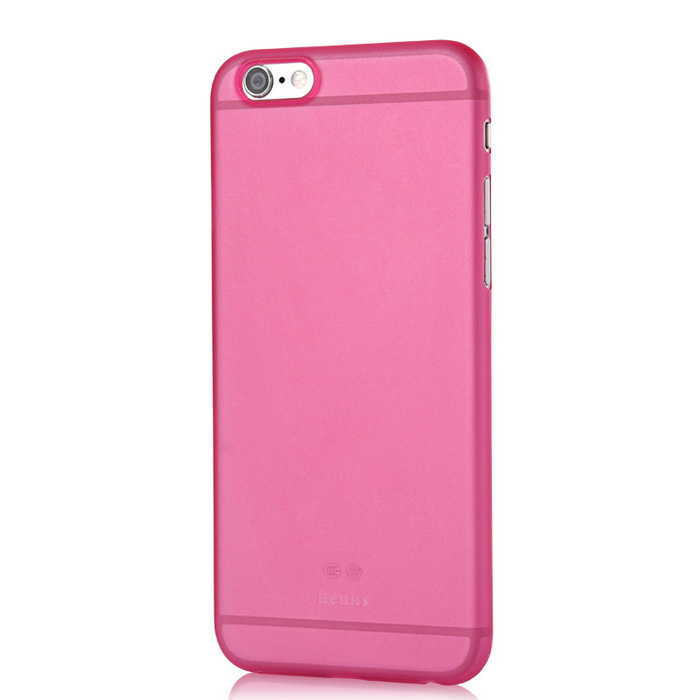 Benks Lollipop Ultra-thin Protective PP Case for IPHONE 6 - Deep Pink