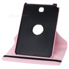 360' Rotating Smart Case w/ Stand for Samsung Tab A 8.0 - Pink