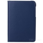 360' Rotating Smart Tablet Case Cover w/ Stand for Samsung Galaxy Tab A 8.0 T350 / T351 - Dark Blue