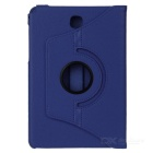 360' Rotating Smart Case w/ Stand for Samsung Tab A 8.0 - Dark Blue