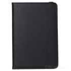 360' Rotating Smart Tablet Case Cover w/ Stand for Samsung Galaxy Tab A 8.0 T350 / T351 - Black