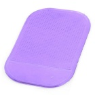 PU Car Anti -Slip Non-Slip Pad Mat - Purple ( 4PCS )