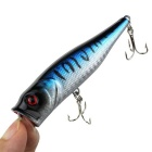 Professional Built-in Steel Ball Vibration Bait Fishing Hook - Silver