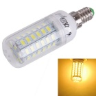 YouOKLight E14 15W LED Corn Light Bulb Warm White Lamp 3000K 1480lm 56-SMD 5730 (110V)