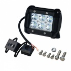 JIAWEN DIY 18W 6-LED Double-line Car Work Light Bar Flood White 1680lm