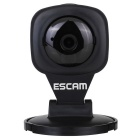 "ESCAM Diamant QF506 1/4 ""CMOS 1.0MP 720P P2P-IP-Kamera w / 1-IR-LED / IR-CUT / TF - Schwarz (US-Stecker)"
