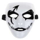 Fashion Hip-hop-Stil Maske für Halloween-Party - Black + White