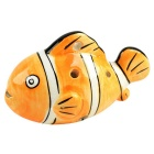 Little Fish Stil 6-Loch C-Taste Ocarina Musikinstrument - Orange