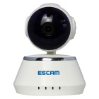 "ESCAM Secure Dog QF510 1/4"" CMOS 1MP Alarm IP Camera - White (US Plug)"