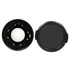 PANNOVO Waterproof Replacement CNC Aluminum Lens Ring Kit for Gopro 4 Session - Black