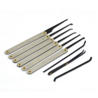 15-In-1 Stainless Steel Locksmith Lockpick Tool Set