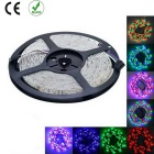 Water-Resistant 25W RGB 2200lm 300-SMD 3528 LED Light Strip w/ 44-Key Controller (EU Plug / 5m)
