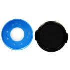 PANNOVO CNC Waterproof Replacement Lens Ring Kit for Gopro 4 Session - Blue + Black