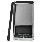"KL-16 1.9"" LCD Screen Mini Pocket Digital Balance Scale - Black + Silver (1000g / 0.1g / 2 x AAA)"