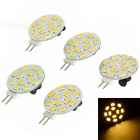 G4 4W LED Module Warm White Light 3200K 270lm 12-SMD 5730 (AC / DC 10~20V / 5pcs)