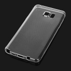 Mini Smile TPU Back Case for Samsung Galaxy Note 5 - Transparent