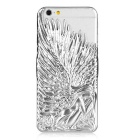 Angel Style Protective Plastic Back Case for IPHONE 6 - Silver