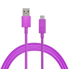 USB 3.1 Type C to USB 2.0 Charging & Data Sync Cable - Purple (102cm)