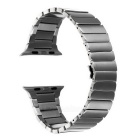 Chained Stainless Steel Wrist Watch Band w/ Attachments for Apple Watch 42mm - Silver