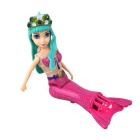Submarine Gorgeous Swimming Little Mermaid Toy - Pink + Green