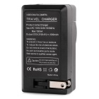 RUITAI Battery Charger + Car Charger for Nikon EN-EL15, D7000 - Black