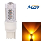 MZ T20 80W 4000lm Yellow 16-XT-E LED Car Lamp (12~24V)
