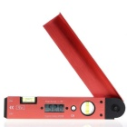 Digital Protractor / Electronic Ruler / Level Ruler Carpenter's Tool - Dark Red + Black