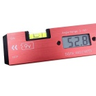 Digital Protractor/Electronic Ruler/Level Ruler Carpenter's Tool - Red