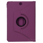 360' Rotating Protective Case Cover for Samsung Tab A 9.7 - Purple