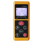 CPTCAM cp-60c 60m Mmini Portable Laser Range Finder / Distance Measuring Meter - Orange (2 x AAA)