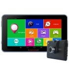 "TiaiwaiT A70 7 ""HD MT8127 Cortex-A7 Quad-Core-Android 4.4 GPS-Navigationssystem w / Russian Karte"