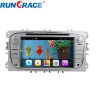 Rungrace Android  7-Inch 2-Din Car DVD Player w/ BT, GPS, IPOD, Wi-Fi, CAN BUS, DVB-T for Ford Focus
