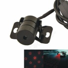 Car Five-pointed Star Shape Light Laser Fog Lamp / Anti Collision Laser Warning Light - Black