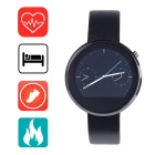 "Aoluguya 1.22"" IPS Smart Bluetooth Watch w/ Heart Rate Monitor / Pedometer / Remote Shutter - Silver"