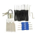 Practice Padlock Stainless Steel Lock Picks Set