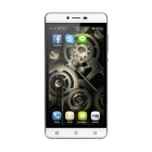 "P8 MTK6572W Android 4.4 Dual-Core 3G Smartphone w / 5,0 ""QHD, 4GB ROM, 5,0 + 2.0MP - Weiß + Silber"