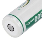 BTY 3.7V 2000mAh 18650 batterie rechargeable de li-ion (2PCS)