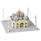 DIY 3D Puzzle Taj Mahal Toy - Yellow + White