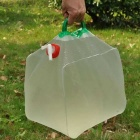 Outdoor Large Capacity Big Folding Drinking Water Bag - White (11L)