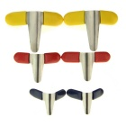 Slotted Practice Padlock + Padlock Shims + 5-in-1 Lock Picks Set