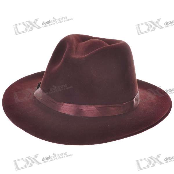 Wool Felt Cowboy Hat/Stetson - Coffee