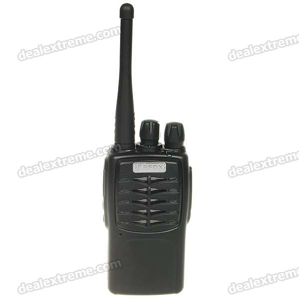 Rechargeable 5W 400-470MHz 16-Channel Walkie Talkies