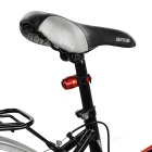 Bicycle 4-Mode Red Light Taillight Warning Light - Red + Black