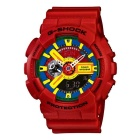 Genuine Casio G-Shock GA-110FC-1ADR Magnetic Resistance Analog-Digital Watch - Red