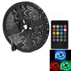 JRLED Waterproof 60W LED Light Strip RGB 6000lm SMD 5050 w/ Music 2.0 Controller (5M / EU Plug)