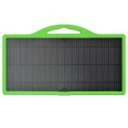 8W 5V 1A Solar Power Panel w/ USB 2.0 - Green + Black