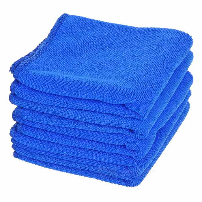 Car Cleaning Fiber Towels - Blue (5PCS / 56*28cm)