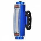 Aluminium Alloy Blue Light 16-LED 3-Mode Warning Bicycle Tail Lamp