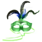 Plastic Feather Eye Mask (Color Assorted)